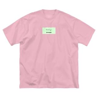 一日一膳(善) Big silhouette T-shirts