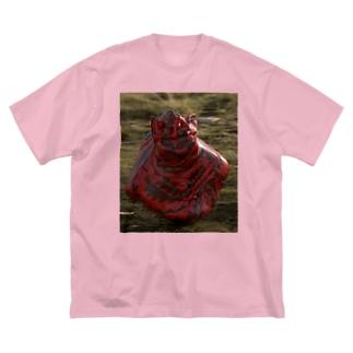 ふんころがしちゃん Big silhouette T-shirts