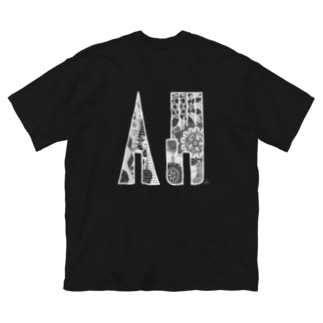 自己表現 W Big silhouette T-shirts