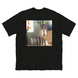 アパート1 Big silhouette T-shirts