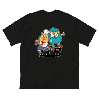 Lucky Lucky BurgerのLLB Big silhouette T-shirts