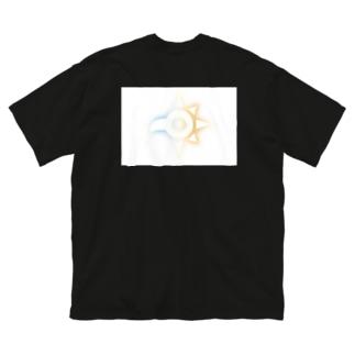 デジデジモンモン Big silhouette T-shirts
