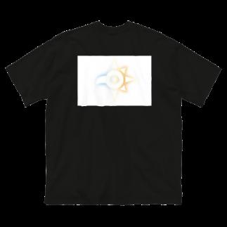 イラストレーターOn@仙台 のデジデジモンモン Big silhouette T-shirts