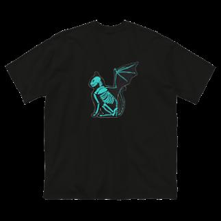 GAB!の猫蝙蝠 Big silhouette T-shirts