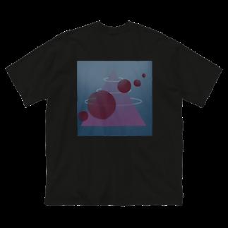 EUAD RPNのfavoris big silhouette T-shirt [black] Big silhouette T-shirts