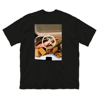 まるみの海苔弁 Big silhouette T-shirts