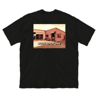 あ Big silhouette T-shirts