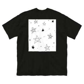 スター☆スター Big silhouette T-shirts