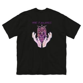 THE FANATICS Big silhouette T-shirts