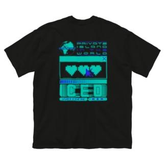 コールドハート Big silhouette T-shirts