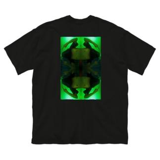 Takano-T mandala Big silhouette T-shirts