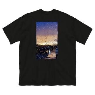 雨に唄えば Big Silhouette T-Shirt