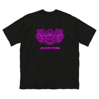 Sleepy eyes Big silhouette T-shirts