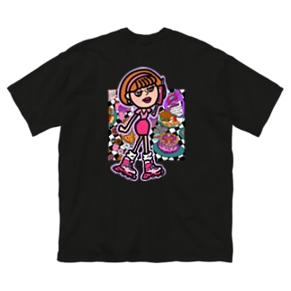 NEF girls.official のNGS Kumi sweets Big Silhouette T-Shirt