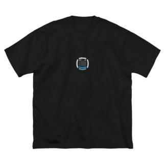 京浜東北線 Big silhouette T-shirts