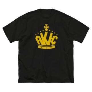 王冠ロゴ Big silhouette T-shirts