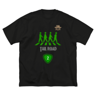 OKダイレクト powered by SUZURIのTAIL ROAD Big silhouette T-shirts