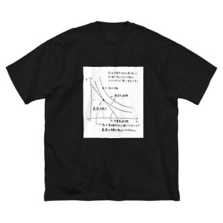 効用最大化できない Big silhouette T-shirts