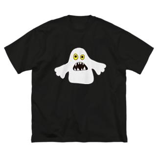 オバケみたいなの2 Big silhouette T-shirts