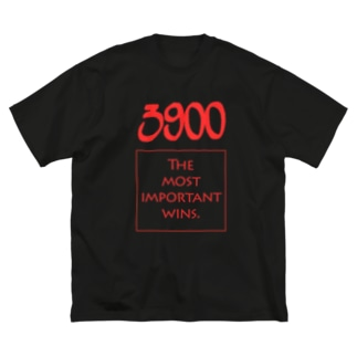 POINTS - 3900 Red Big silhouette T-shirts