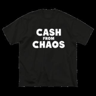 ShineのCASH FROM CHAOS Big silhouette T-shirts