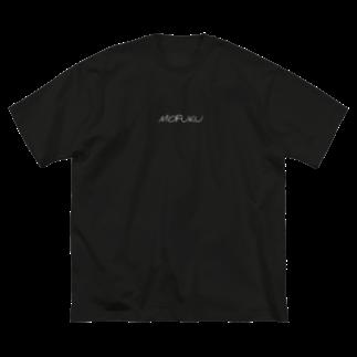 WILDMONKEYの喪服MOFUKU Big silhouette T-shirts