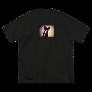 krmfrnのあくぴーたん Big silhouette T-shirts