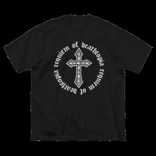 Bootleg BustersのRequiem of Dedthtopia Big silhouette T-shirts
