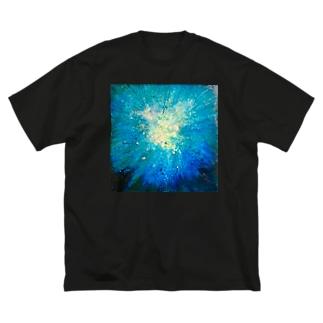 Bakuhatsu Blu Big Silhouette T-Shirt