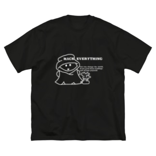 Hack Everything Big silhouette T-shirts