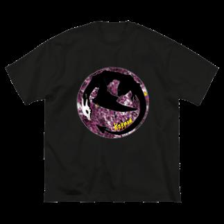 SWの業 Big silhouette T-shirts