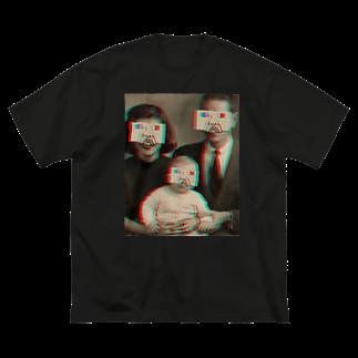 希鳳のj3d Big silhouette T-shirts