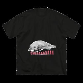 xxxmmxxxのDARAAAAAAAAN Big silhouette T-shirts