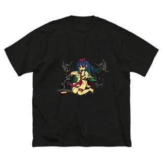 献身的な愛情表現 Big silhouette T-shirts