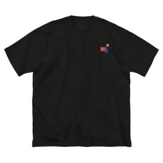 ko火锅 Big silhouette T-shirts