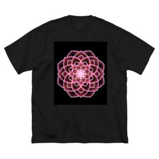 幾何学模様02 Big silhouette T-shirts