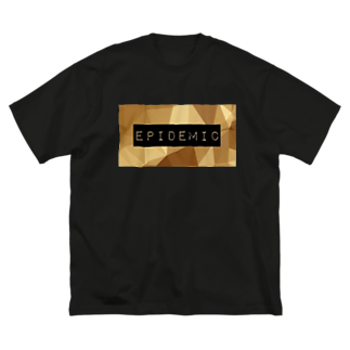 EPIDEMICのEPIDEMIC gold Big silhouette T-shirts