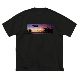 THE WORLD IS YOURS… Big silhouette T-shirts
