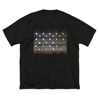 どっと鉄板てぃーしゃつ Big silhouette T-shirts