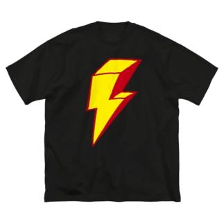 イナヅマ Big silhouette T-shirts