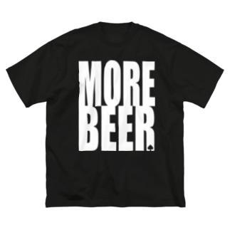 ビアモット! (black body) Big silhouette T-shirts