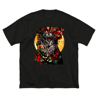 私達が見る神 Big silhouette T-shirts