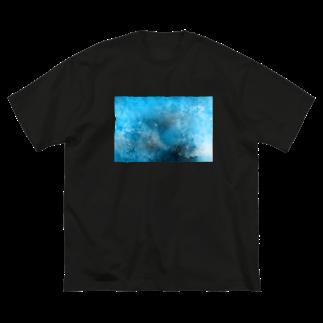 SANKAKU DESIGN STOREの深海で目を覚ます。 Big silhouette T-shirts