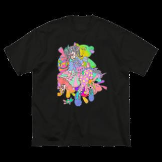 うさ太郎工房のKAWAII Big silhouette T-shirts