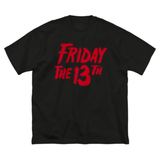NIPPON DESIGNのFRIDAY THE 13TH Big silhouette T-shirts