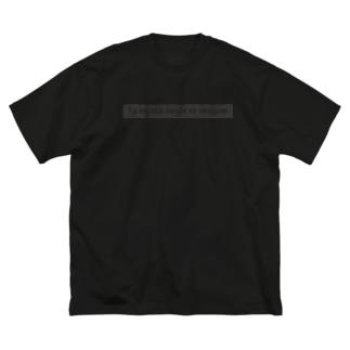 TU ES MA SEULE ET UNIQUE. Big silhouette T-shirts