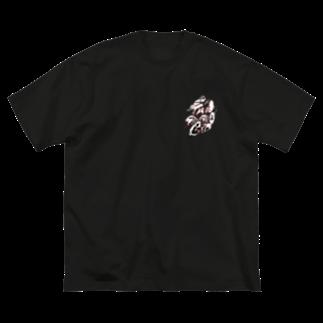 堺ファンダンゴ グッズの堺FANDANGO応援グッズ Big silhouette T-shirts