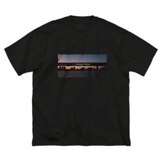 magic hour Big silhouette T-shirts
