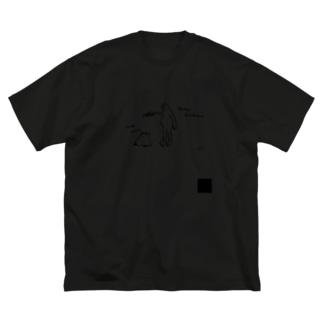 Yo! Men,のYo! Men, alcohol disinfection T Big silhouette T-shirts