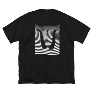 犬神シンクロナイズド Big silhouette T-shirts